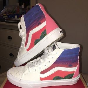 417cc09cd6ee9e Vans Shoes - Custom high top Vans